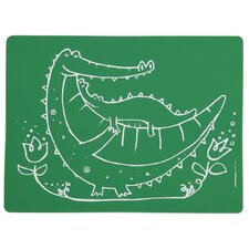 Meal-Mat Crocodile Cuddles Placemat