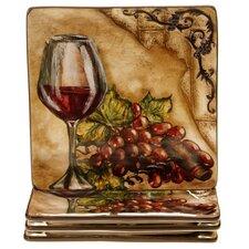 Tuscan View Dessert Plate (Set of 4)
