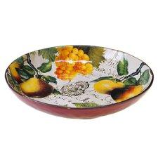 Botanical Fruit Pasta Serving Bowl