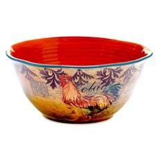 Rustic Rooster Deep Bowl