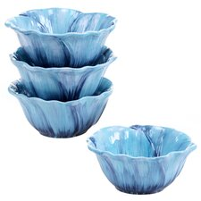 Tuileries Garden 3-D Ice Cream Bowl (Set of 4)
