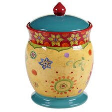 Tunisian Sunset Biscuit Jar