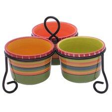 Hot Tamale 4 Piece Serving Bowl Set