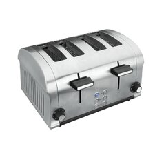 Toaster  elektrisch Luxe 4 Scheiben 1400 W
