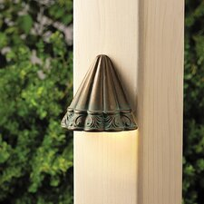 Ainsley Square Scalloped Deck Light