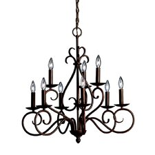 Norwich 9 Light Electric Candle Chandelier
