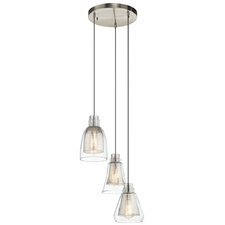 Evie 3 Light Mini Pendant
