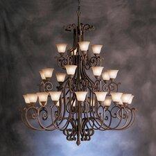 Larissa Indoor 28 Light Chandelier
