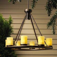Oak Trail 9 Light Outdoor Chandelier