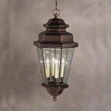 Savannah Estates 4 Light Outdoor Hanging Pendant