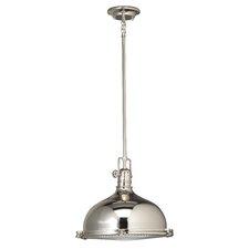 Fresnel 1 Light Pendant