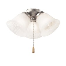 Three Light Ceiling Fan Light Kit