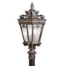 """Tournai 3 Light 12"""" Outdoor Post Lantern"""
