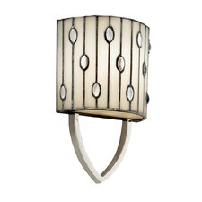 Cloudburst Wall Sconce in Polished Nickel