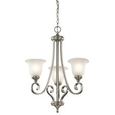 Monroe 3 Light Builder Chandelier