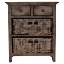 Baker 2 Drawer and 2 Basket Chest