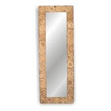 Buzz Large Rectanglular Abaca Mirror