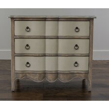 French Clarence 3 Drawer Chest