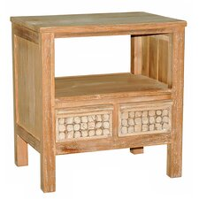 New Hampton 2 Drawer End Table