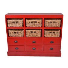 Nantucket 6 Drawer Storage Cabinet