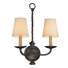 Alexander 2 Light Wall Sconce