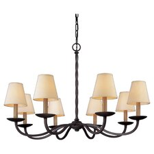 Alexander 8 Light  Chandelier