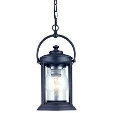 Station Square 1 Light Outdoor Hanging Lantern