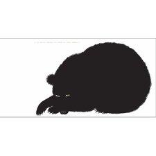 Seria della Natura L'Orso Bear 1965 Silkscreen Graphic Art