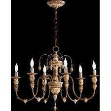 Salento 6 Light Candle Chandelier
