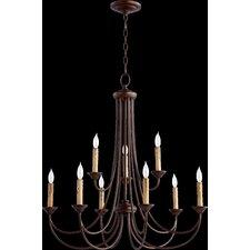 Brooks 9 Light Candle Chandelier