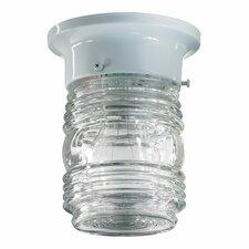 Amber Scavo Glass Flush Mount