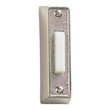 Plastic Door Chime Button in Satin Nickel (Set of 2)