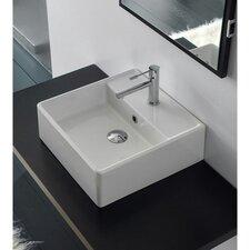 Teorema Wall Mounted Bathroom Sink