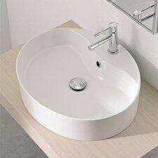 Wind Above Counter Single Hole Bathroom Sink