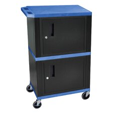 Tuffy Dual Cabinet Storage Cart