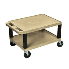 Tuffy Two Shelf Utility Cart