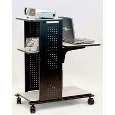 4-Shelf Presentation Station with Cabinet