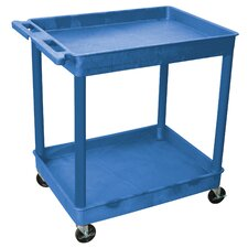Two Shelf Tub Cart