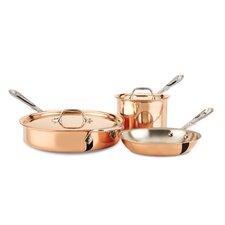 c2 Copper Clad 5 Piece Cookware Set