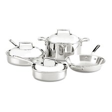 D7 Stainless Steel 4 Piece Cookware Set