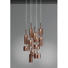 Spillray 12 Light LED Cluster Pendant