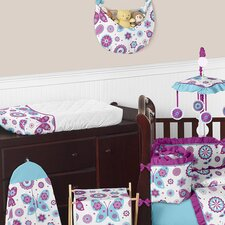 Spring Garden Changing Pad Cover
