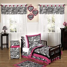 Funky Zebra Toddler Bedding Collection