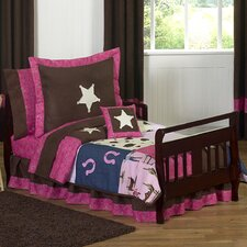Cowgirl 5 Piece Toddler Bedding Set