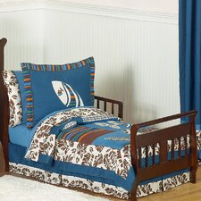 Surf Blue 5 Piece Toddler Bedding Set