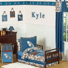 Surf Blue Toddler Bedding Collection