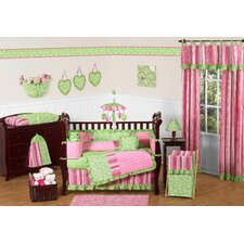 Olivia 9 Piece Crib Bedding Set