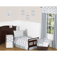 Chevron 5 Piece Toddler Bedding Set