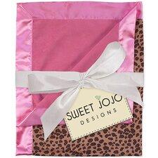 Cheetah Pink Baby Blanket