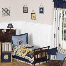 Robot Toddler Bedding Collection